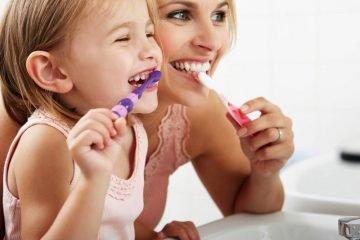 dentes do bebê cuidado oral